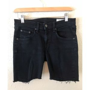 Rag & Bone Denim Skinny Cut Off Shorts